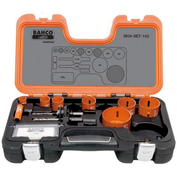 Hullsagsett Bahco 3834-SET-103