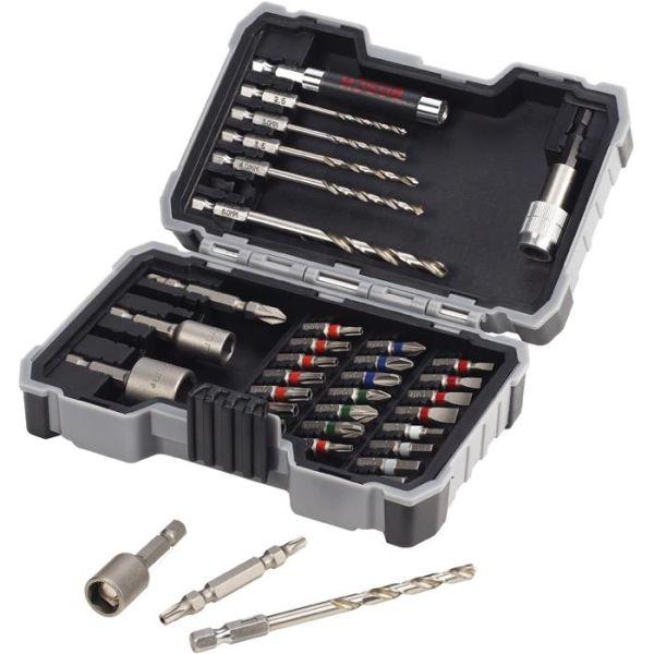 Bor- og bitssett Bosch 2607017328 Metal 35 deler