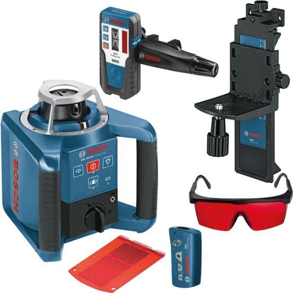 Pyörivä laser Bosch GRL 300 HV sis. laservastaanottimen