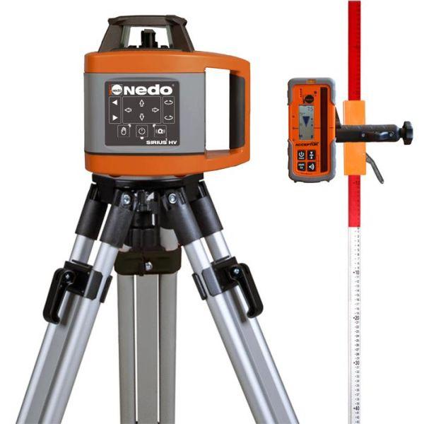 Pyörivä laser, paketti Nedo SIRIUS 1 HV