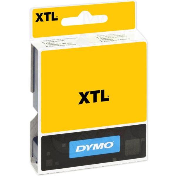 Teip flerfunksjonsvinyl DYMO XTL 54mm Svart på transparent