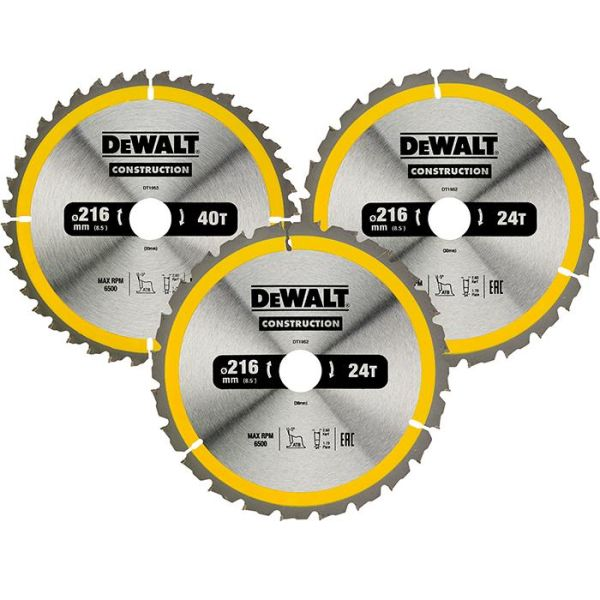 Sågklingspaket Dewalt DT1962-QZ 3-pack