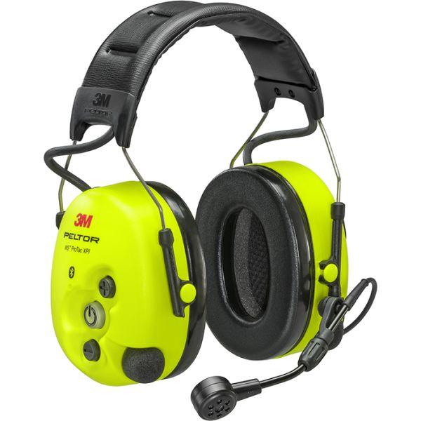 Hörselskydd 3M Peltor WS ProTac XPI hjässbygel, utan FLX2-ingång