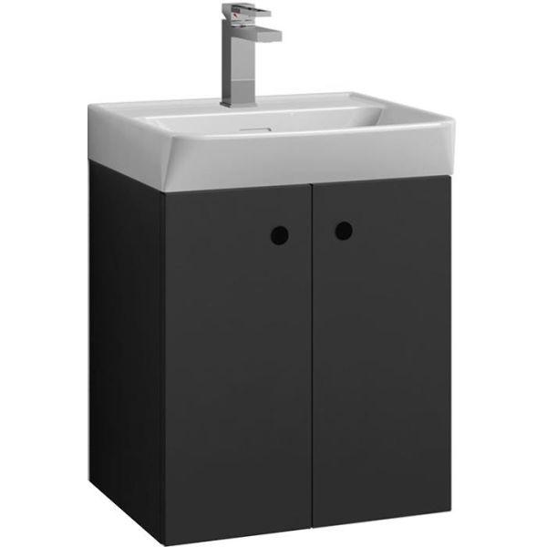 Svedbergs Intro 55 Tvättställsskåp grafitgrå 55 cm
