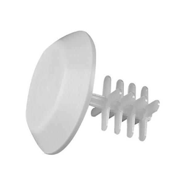 ROT-bricka Faluplast 50410 för rörände, 53 mm Vit