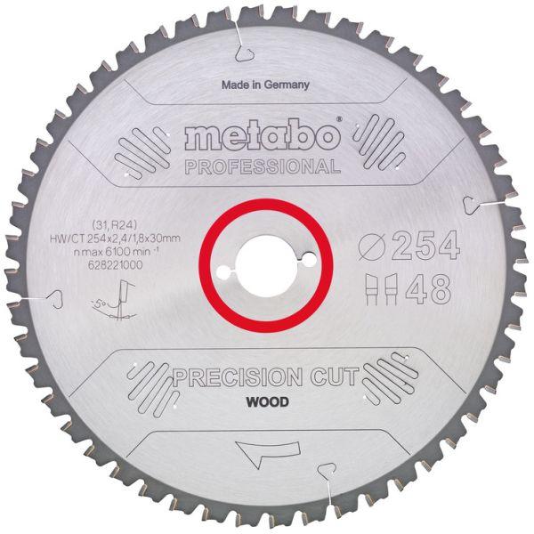 Sagklinge Metabo 628056000 315 x 30 mm 48T