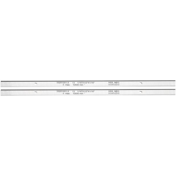 Höyläterä Metabo 0911063549 HSS, 2 kpl