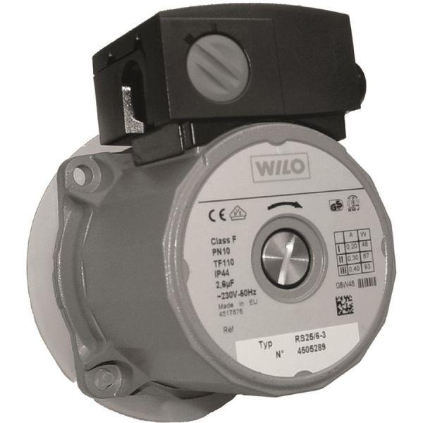 Drivsida Termoventiler Wilo RS25-6 för utbyte till Laddomat 21