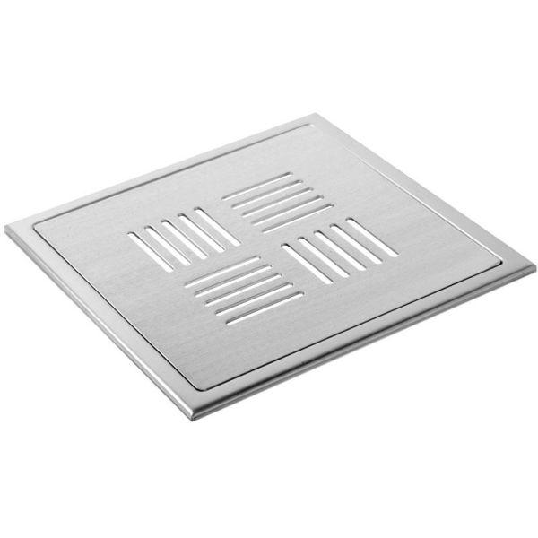 Lattiakaivon siivilä TEBO Details New York Lux 200x200 mm ilman syvennyksiä