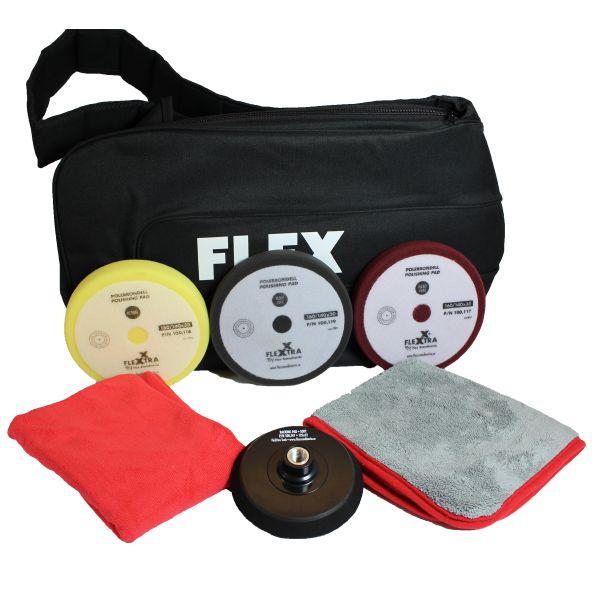 Polerkit Flex Roterande & väska polerkit i 7 delar
