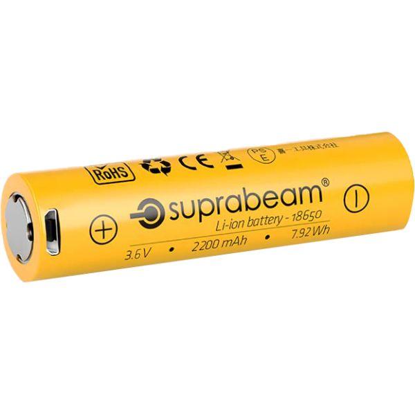 Suprabeam 18650 Batteri 3,6V, 2200 mAh