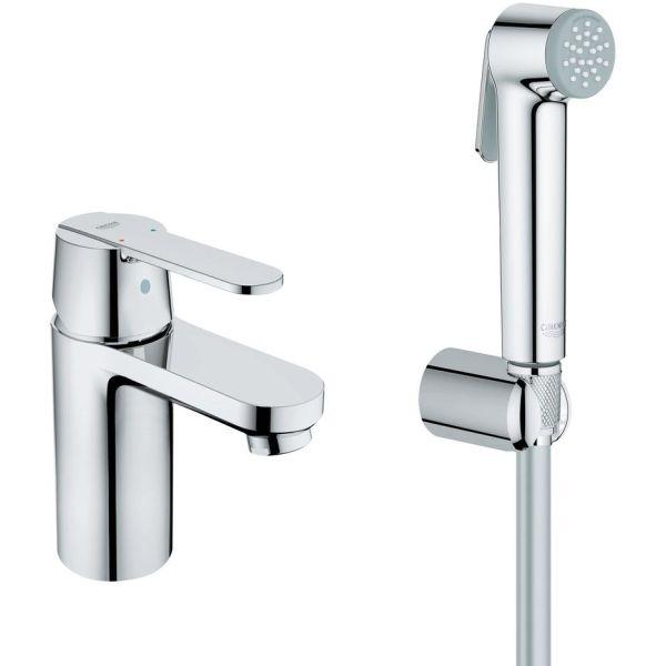Tvättställsblandare Grohe Get Hygienica med bidédusch