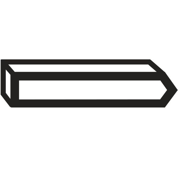 Stift Bosch 1609200390 Typ 40, 23 mm, 1000-pack