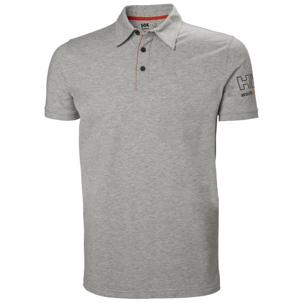 H/H Workwear Kensington Pikétröja grå 4XL