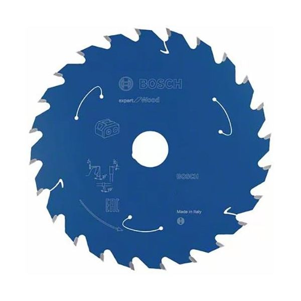 Sågklinga Bosch Expert for Wood 136x1,5x20 mm, 24T 136x1,5x20 mm, 24T