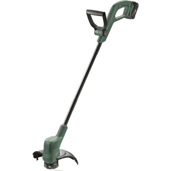 Gresstrimmer Bosch DIY Easy Grasscut 18-230 med 2,0 Ah batteri og lader
