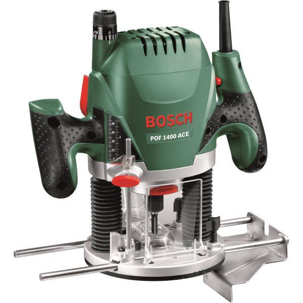 Handöverfräs Bosch DIY POF 1400 ACE 1400 W