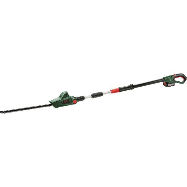 Häcksax Bosch DIY Universal Hedge Pole 18 med 2,0Ah batteri och laddare