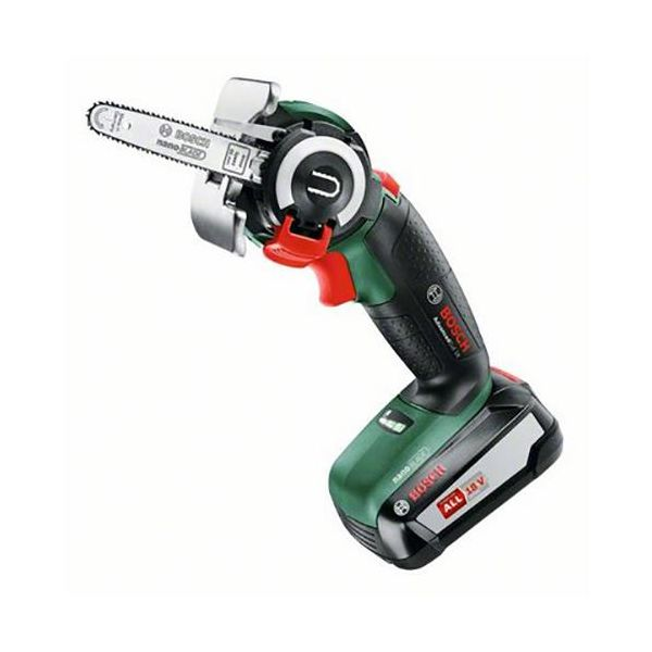 Stikksag Bosch DIY Advanced Cut 18 med 2,5 Ah-batteri og lader
