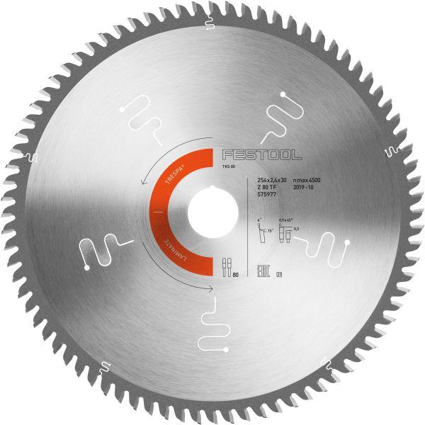 Sågklinga Festool 575977 254x2,4x30 mm, TF80 L