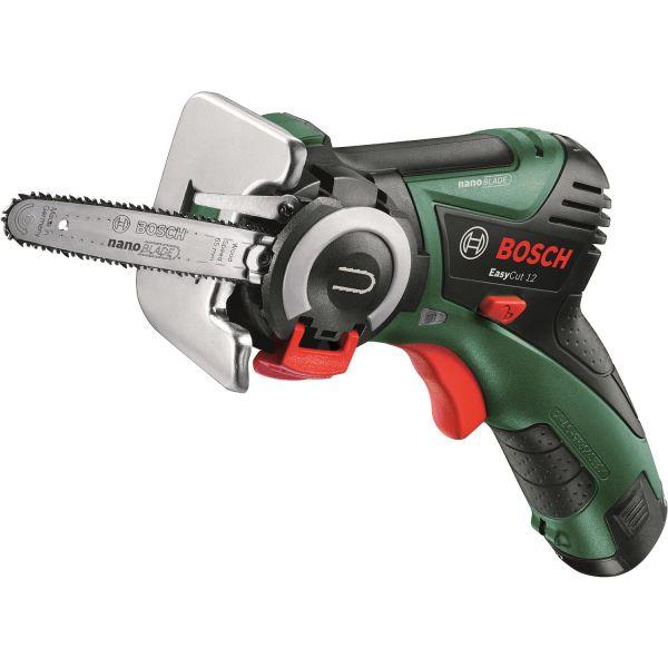 Motorsåg Bosch DIY Easy Cut 12 med 2,5Ah batteri och laddare