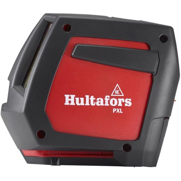 Punktlaser Hultafors PXL med rød laserstråle