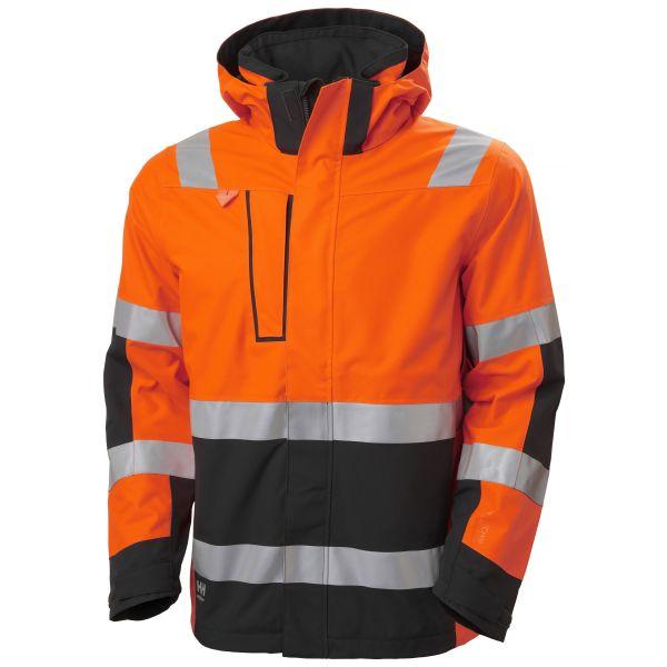 H/H Workwear Alna 2.0 Softshelljacka orange varsel 4XL