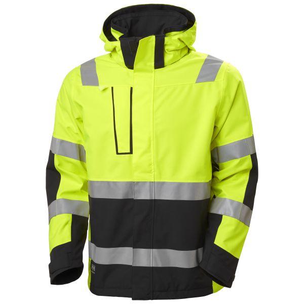 H/H Workwear Alna 2.0 Softshelljacka gul varsel XL