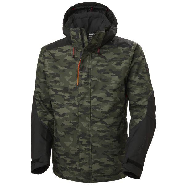 H/H Workwear Kensington Jacka kamouflage M