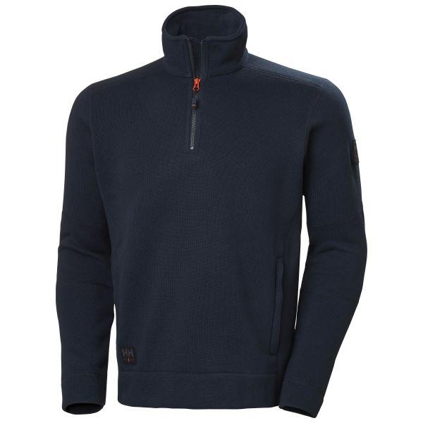 H/H Workwear Kensington Fleecejacka marinblå 4XL