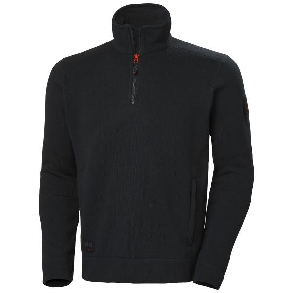 H/H Workwear Kensington Fleecejacka svart M