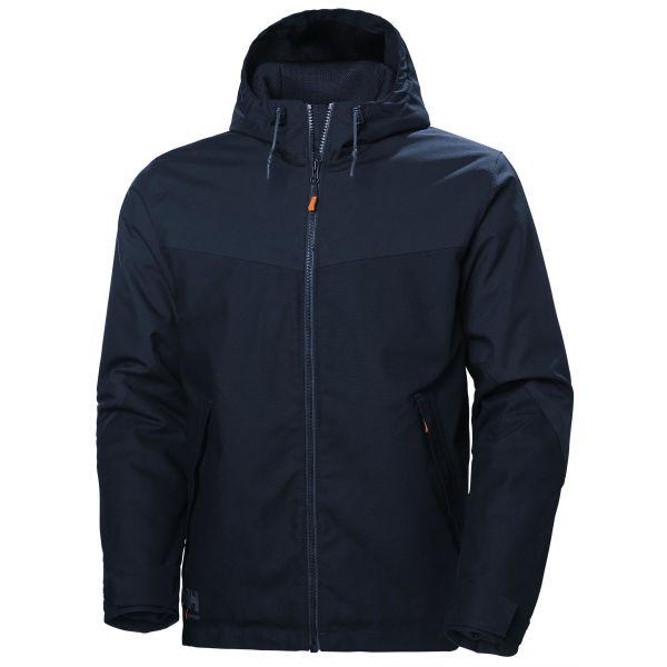 H/H Workwear Oxford Jacka marinblå L