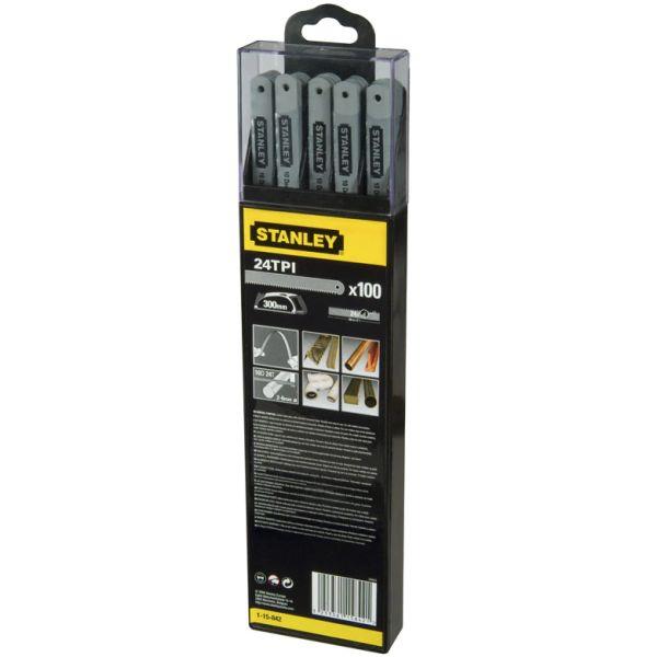 Bågfilsblad STANLEY 2-15-842 300 mm, 24 TPI 5-pack