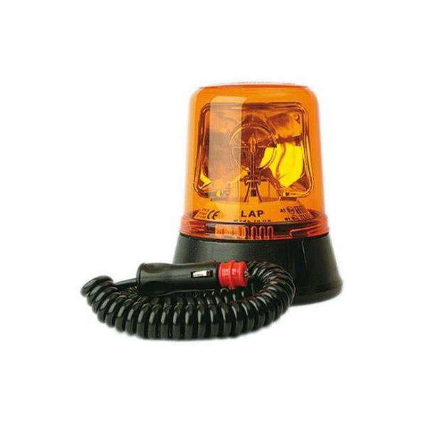 Varningsfyr LAP LAP260K med magnetfäste, roterande