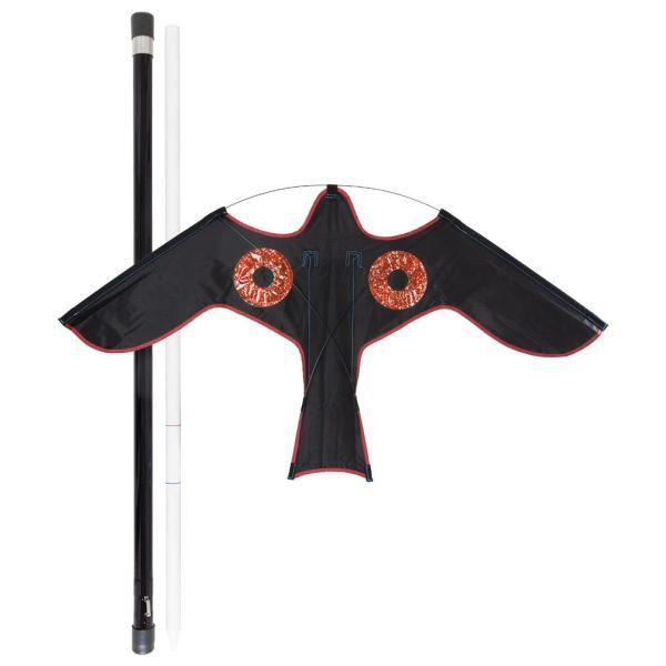 Fågelskrämma GreenLine Blackbird svart, 5 m