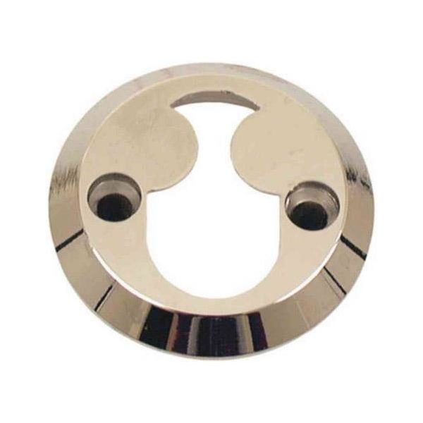 Sylinderring ASSA 463501100044 for dobbeltsylinder, 21 mm Brunoksidert messing