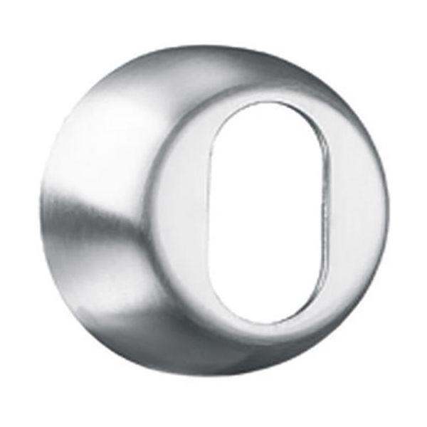 Sylinderring ASSA 810855100031 rustfri, oval 18 mm