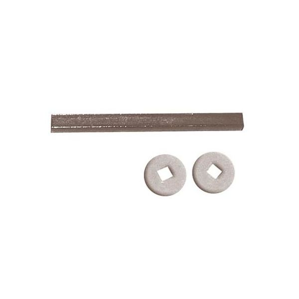 Vridepinne ASSA 4294 80 mm, inkl. 2 skiver for lås 2000