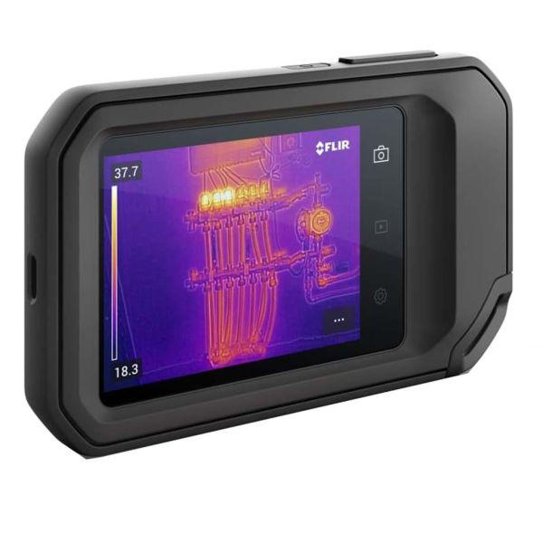 """Värmekamera Flir C5 3,5"""" integrerad pekskärm"""
