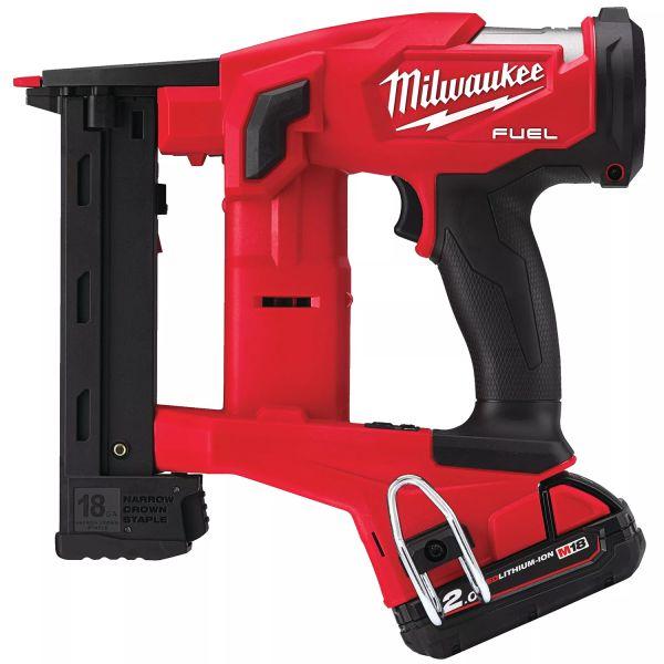 Milwaukee M18 FNCS18GS-0X Klammerpistol utan batteri och laddare