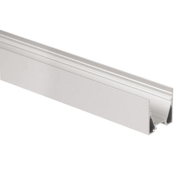 Hide-a-Lite Maxi U Profil aluminium, 2 m