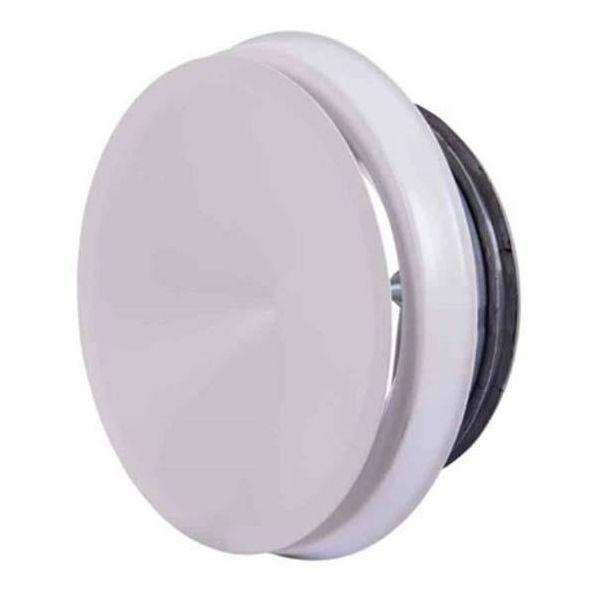 Tilluftsventil Flexit 116776 vit, stål 125 mm