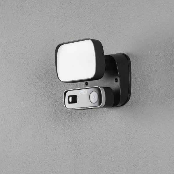 Seinävalaisin Konstsmide Smartlight 10 W, kamera, kaiutin ja mikrofoni