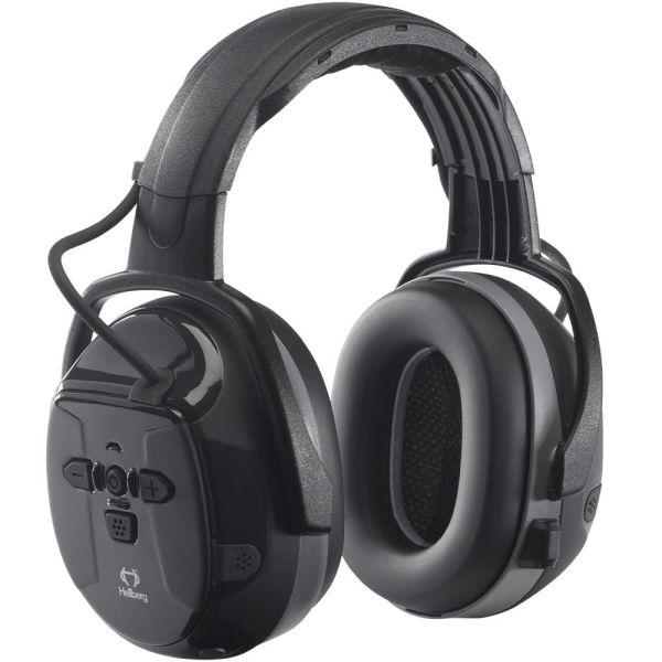 Hörselskydd Hellberg Xstream LD Bluetooth, medhörning, hjässbygel