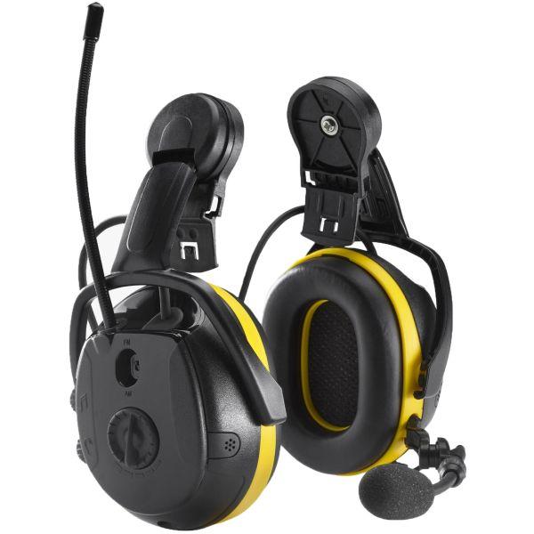 Hörselskydd Hellberg Synergy Bluetooth, medhörning och hjälmfäste