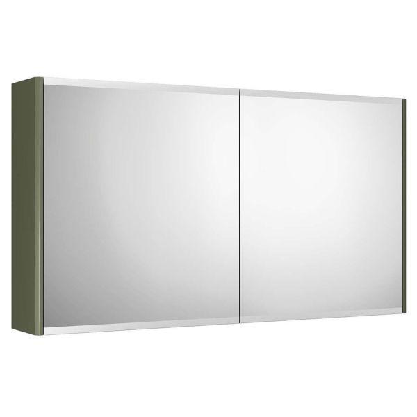 Gustavsberg Graphic Spegelskåp grön dubbelsidig 100 cm