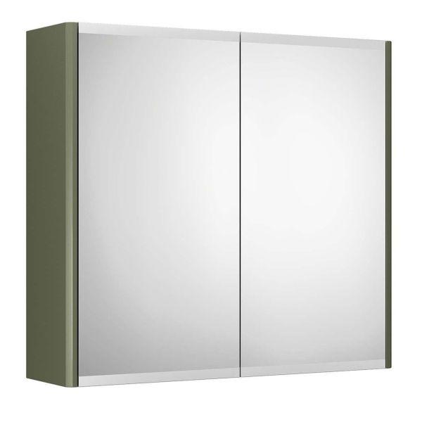 Gustavsberg Graphic Spegelskåp grön dubbelsidig 60 cm
