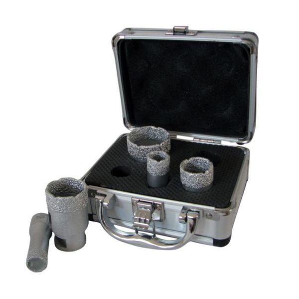 Diamantborrset Flexxtra FL3SET1 hex, 5 - 10 mm