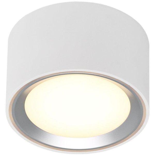 Spotlight Nordlux FALLON 47540132 med LED, 2700K, IP20 Vit/borstat stål