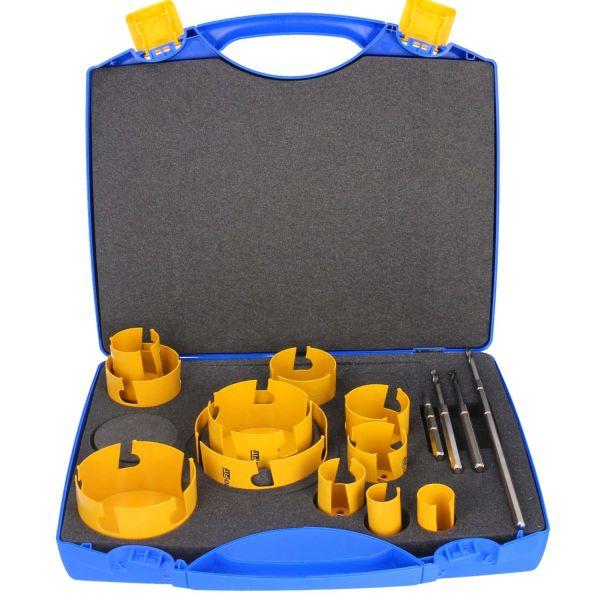 Hålsågset Pro-fit HM Multi Special Edition 32-133 mm, 15 delar